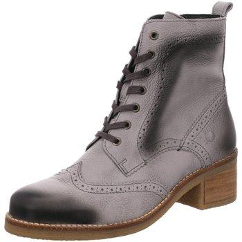 Schuhe Damen Boots Jana Stiefeletten Da.-Stiefel 8-8-25200-29 grau