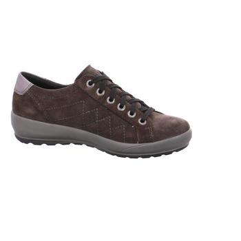 Schuhe Damen Sneaker Low Legero Schnuerschuhe . 00550-48 braun