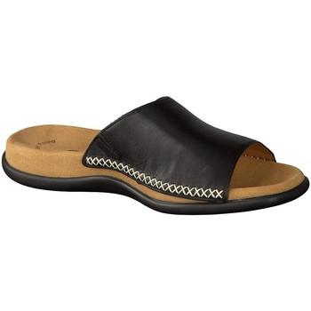 Schuhe Damen Sandalen / Sandaletten Gabor Pantoletten 03.705.27 schwarz