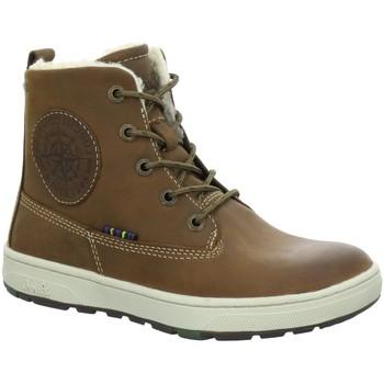 Schuhe Jungen Sneaker High Lurchi By Salamander Schnuerstiefel DOUG-TEX 33-14779-47 braun