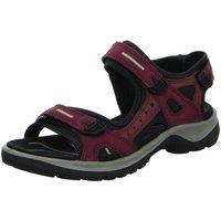 Schuhe Damen Sportliche Sandalen Ecco Sportschuhe Sandalette  OFFROAD 069563 59277 rot