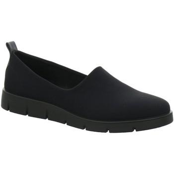 Schuhe Damen Slip on Ecco Slipper Bella 282073.51707 schwarz