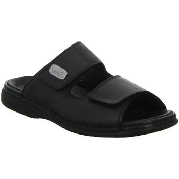Schuhe Herren Sandalen / Sandaletten Rieker Komfort Pantolette 25590-00 schwarz