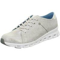 Schuhe Damen Sneaker Low Wolky Schnuerschuhe Mega Off-silver Marley leath 2051712-Mega grau