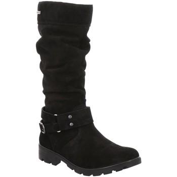 Schuhe Mädchen Klassische Stiefel Ricosta Stiefel RIANA mittel Warmf./-Te 7222000-090-rianna schwarz