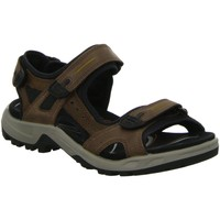 Schuhe Herren Sportliche Sandalen Ecco Offene Sandalette OFFROAD 069564 56401 braun