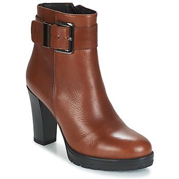 Schuhe Damen Low Boots Betty London JARAMBOLE Braun
