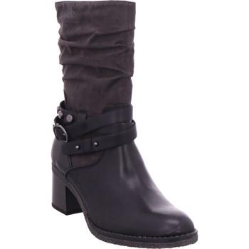 Schuhe Damen Klassische Stiefel S.Oliver Woms Boots BLACK COMB
