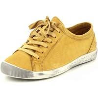Schuhe Damen Sneaker Low Softinos Schnuerschuhe P900154538 gelb