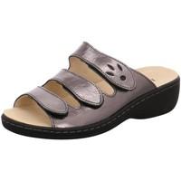 Schuhe Damen Pantoffel Longo Pantoletten Beq-Pantl-Wörishf-30 1005316 grau