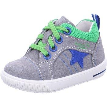 Schuhe Damen Sneaker Low Superfit Schnuerschuhe 2-00353-44 44 grau