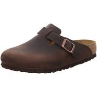 Schuhe Herren Pantoletten / Clogs Birkenstock Offene Boston BS 860131 braun