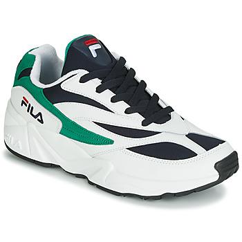 Schuhe Herren Sneaker Low Fila VENOM LOW Weiss / Grün