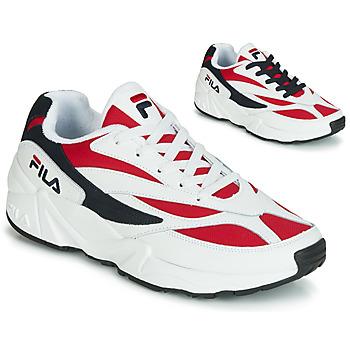 Schuhe Herren Sneaker Low Fila VENOM LOW Weiss / Rot