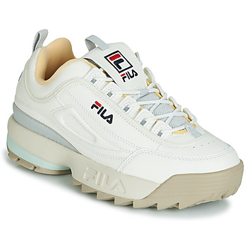 Schuhe Damen Sneaker Low Fila DISRUPTOR CB LOW WMN Weiss / Grau