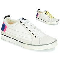 Schuhe Damen Sneaker Low Diesel D-VELOWS LOW PATCH W Weiss