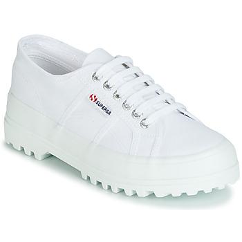 Schuhe Damen Sneaker Low Superga 2555 COTU Weiss