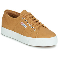 Schuhe Damen Sneaker Low Superga 2730 COTU Beige