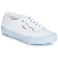 Schuhe Sneaker Low Superga 2750 CLASSIC Weiss