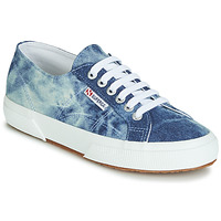 Schuhe Sneaker Low Superga 2750 TIE DYE DENIM Blau