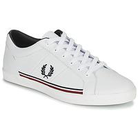 Schuhe Herren Sneaker Low Fred Perry B722 Weiss