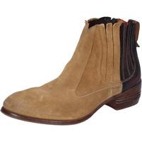 Schuhe Damen Ankle Boots Moma BT18 beige