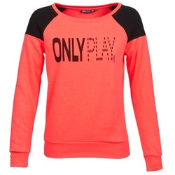 Kleidung Damen Sweatshirts Only Play MAKAYLA TOP Korallenrot
