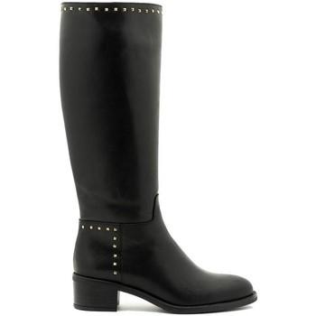 Schuhe Damen Klassische Stiefel Alpe 38250405 Schwarz