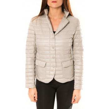 Kleidung Damen Jacken De Fil En Aiguille Doudoune Victoria & Karl 15326-C Beige Beige