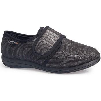 Schuhe Damen Slipper Calzamedi EXTRA KOMFORTABLE FRAUEN  SCHUHE W 3070 GRIS