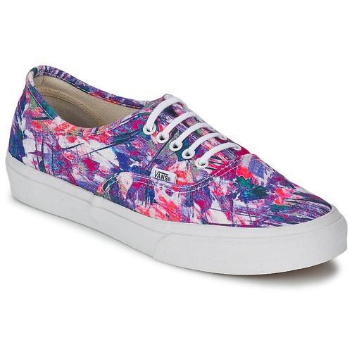 Schuhe Damen Sneaker Low Vans AUTHENTIC SLIM Violett