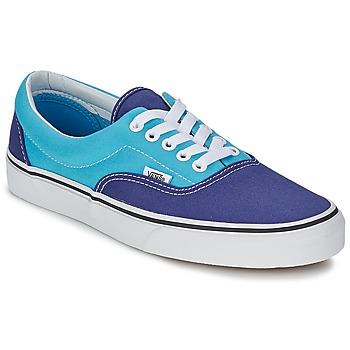 Schuhe Damen Sneaker Low Vans ERA Blau