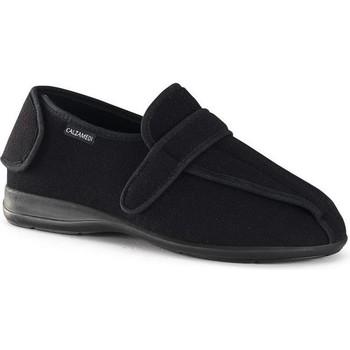 Schuhe Damen Hausschuhe Calzamedi postoperativen BLACK
