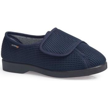 Schuhe Damen Sneaker Low Calzamedi SCHUHE  DOMESTICO BLUE