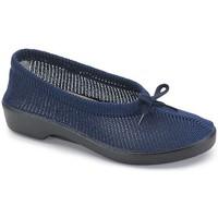 Schuhe Damen Slipper Calzamedi Orthopädie-Schuhfrau BLUE