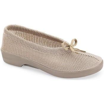 Schuhe Damen Slipper Calzamedi Orthopädie-Schuhfrau BEIGE