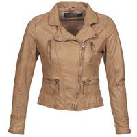 Kleidung Damen Lederjacken / Kunstlederjacken Oakwood 60862 Cognac