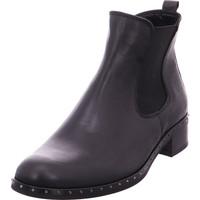 Schuhe Damen Low Boots Chelsea Stiefel - 91.700.27 schwarz 27