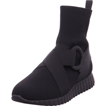 Schuhe Damen Sneaker High Xyxyx - 6502601 schwarz-schwarz