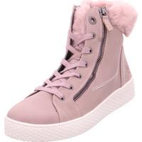 Schuhe Damen Sneaker High Stiefelette Fergie Revo rose