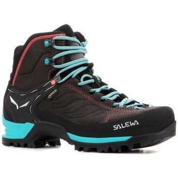 Schuhe Damen Wanderschuhe Salewa WS MTN Trainer MID GTX 63459 0674 grau
