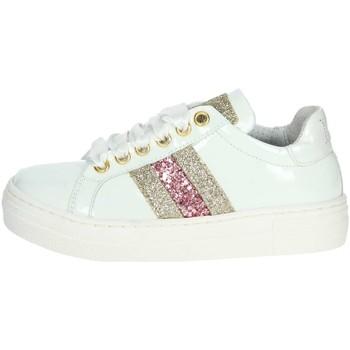 Schuhe Kinder Sneaker Low Le Petit Bijou 6314 Niedrige Sneakers Mädchen Weiss Weiss
