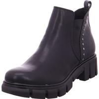 Schuhe Damen Stiefel Stiefelette Damen Stiefel BLACK