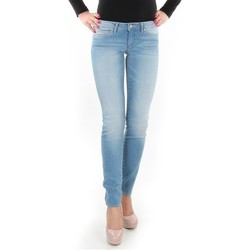 Kleidung Damen Röhrenjeans Wrangler Spodnie  Caitlin 24CH145X blau
