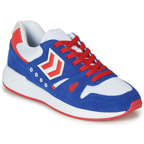 Schuhe Sneaker Low Hummel LEGEND MARATHONA Blau / Rot / Weiss