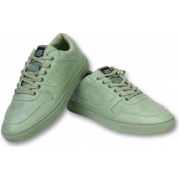 Schuhe Herren Sneaker Sixth June Sneaker Seed Essential Grün