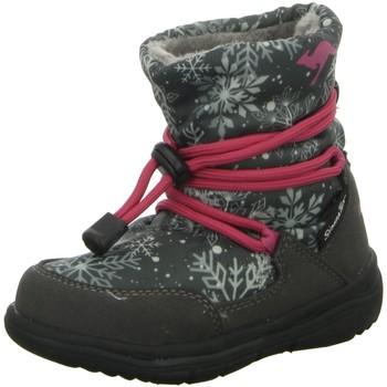 Schuhe Mädchen Schneestiefel Kangaroos Maedchen NV 0120A grau