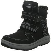 Schuhe Jungen Schneestiefel Kangaroos Klettstiefel Allwetterstiefel Warmfutter Funktionsmembran Kanga- schwarz