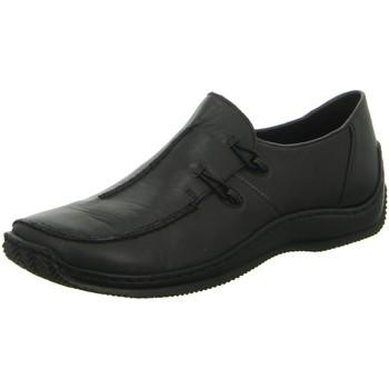 Schuhe Damen Slipper Rieker Slipper Slipper Halbschuh Casual L1751-00 schwarz
