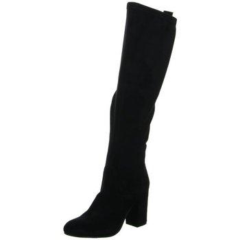 Schuhe Damen Klassische Stiefel Spm Shoes & Boots Stiefel Overkniestiefel-Abs. 20127287-2W0-12-0705 schwarz